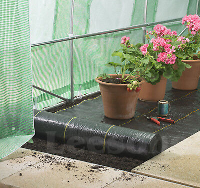4m Extra Heavy Duty garden weed control fabric ground cover membrane landscape 5