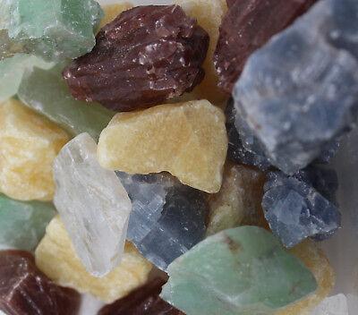 1/2 lb Lot Bulk Crafters Gems Crystals Natural Rough Raw Mineral Rocks 8 oz
