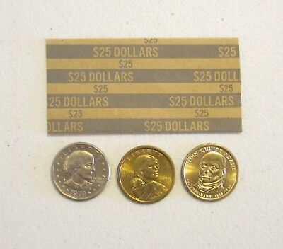 2000 Presidential Dollars Coin Wrappers  Sacagawea Dollar Paper Coin Wrapper 3