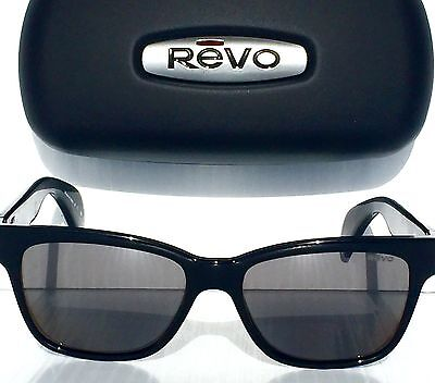 NEW* Revo TRYSTAN Black POLARIZED Graphite Grey lens Sunglass RE 5012 01 GY