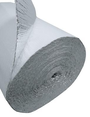 48 In. X 125 Ft White Single Reflective Bubble Insulation Radiant Barrier 500sft 3