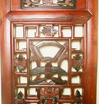 Antique Chinese Screen Panels (2760)(Pair), Cunninghamia Wood, Circa 1800-1849 7