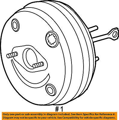 Gm Oem Power Brake Vacuum Booster 23135220