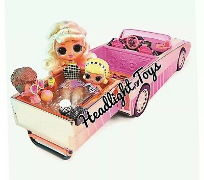 Brand New LOL Surprise Car-Pool Coupe for Tots and OMG Dolls Authentic