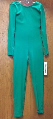 NWT Body Wrappers 117 Long Sleeve Child Unitard Cat Suit Choice of Color & Size