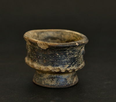Tyrona Tairona Colombia Pre Columbian Ceramic Clay Tiny Bowl 200BCE-1600CE 4