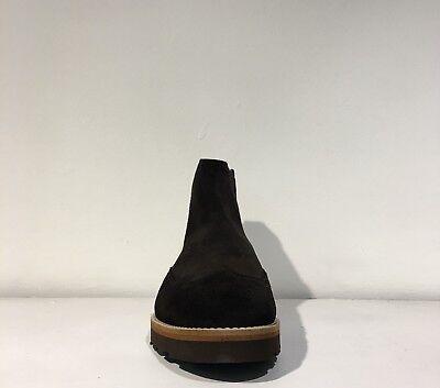 Trussardi jeans scarpa uomo stivaletto camoscio art.77A00027 col. marrone 3
