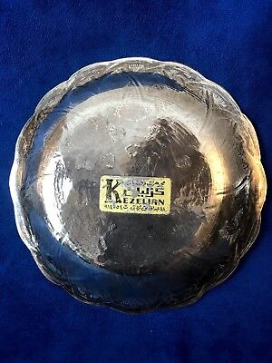 Antique Islamic, Middle East, Persian 900 Silver Plate Engraved 3