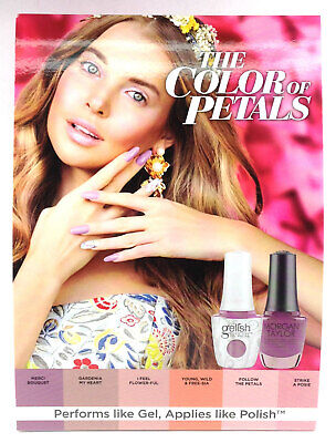 Harmony Gelish -THE COLOR OF PETALS Spring '19 Collection-Choose Any Shade 0.5oz 2