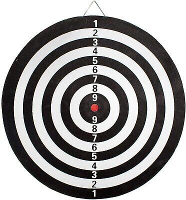 GIOCO TIRO A SEGNO CON 6 FRECCETTE frecce Bersaglio due lati 41x41cm 2 giochi 2