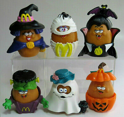 McDonald's 1993 McNUGGET BUDDIES Halloween NUGGET Buddy YOUR Toy CHOICE 2
