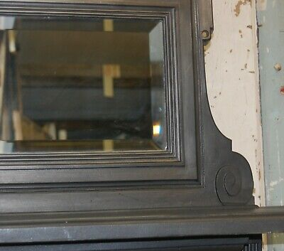 Carron Foundry Victorian Cast Iron Combination Fire With Built In Mirror Fc0049 9
