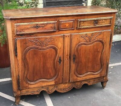 Superb Antique 18th Century French Country Buffet or Commode 4