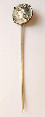 épingle à cravate ou foulard Art Nouveau Modern Style 1900 pin 2