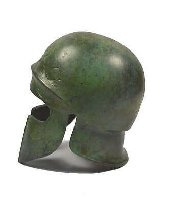 Athenian Bronze mini Helmet - Museum replica - Ancient Greece - Handmade 4