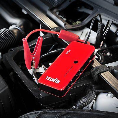 Avviatore Booster Portatile Telwin Drive 13000 12V Auto Moto Camper Barche 800Ah 5
