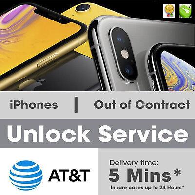 Factory Premium Unlock Service AT&T for iPhone 11 11 PRO XS XS Max XR X 8 7 ATT 2