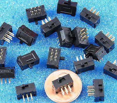 12 pcs dpdt micro mini r a slide switch tyco augat 12 pcs dpdt micro mini r a slide switch tyco augat