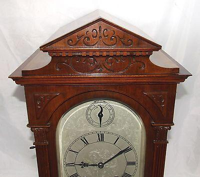 # Antique LENZKIRCH Walnut TING TANG Bracket Mantel Clock : SERVICED & WORKING 5