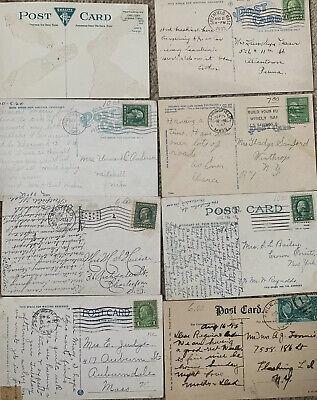 Used & Unused. Lot of 50+ USA Vintage Postcards,1900- 1950s.We ❤️ Our Customers! 9
