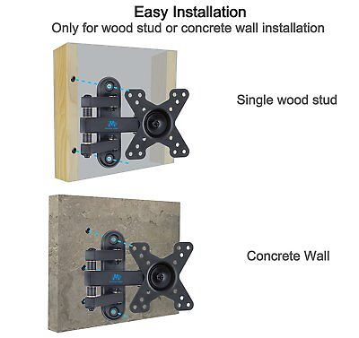Mounting Dream MD2463 TV Wall Mount Bracket with Full Motion Articulating Arm (1 5