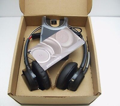 Plantronics Voyager Focus Uc B825 M Stereo Bluetooth Headset Retail Packaging 169 95 Picclick