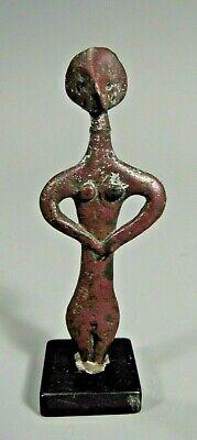 RARE Ancient Syro-Hittite Copper Idol ca. 2800-1500 BC Ex Jeff Hunter Collection 2