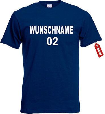 T-Shirt Herren/Damen Dschungelcamp mit Namen und Wunschnummer Dschungel 2019 NEW