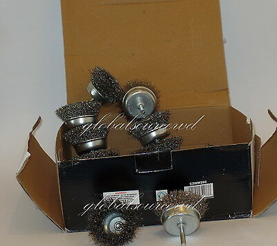 """20pc 3""""   CALHAWK WIRE CUP BRUSH SET  STEEL WIRE WHEEL BRUSHES FOR DRILLS 3"""