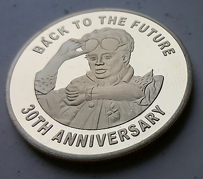 Back to the Future Gold Coin Trilogy Michael J Fox Iconic Movie Past History USA 5
