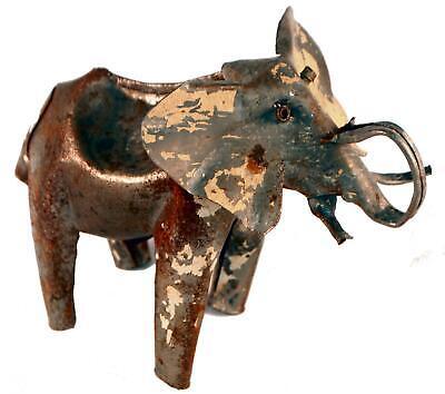 Commercio Equo E Solidale South African riciclato animale in metallo per auto Scultura Animale-Shark 39cm