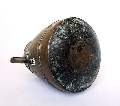 1700's, Rare Ancient 1.4kg Copper Casting Pot , Islamic Ottoman Mamluk Style 3