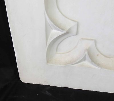 Antique Architectural Religious Italian Carved Marble Altar Angel/Cherub PANEL#2 7