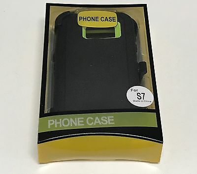 For Samsung Galaxy S7 Defender Case (Belt Clip Fits Otterbox) 7