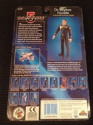 1997 Warner Bros Toys. Babylon 5 Dr. Stephen Franklin Unopened!!  Exclusive!!