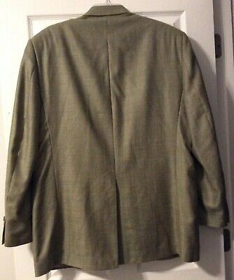 ***EUC*** Ralph Lauren Men's Silk Wool Linen Tan Brown Jacket Blazer • Size 44L 6