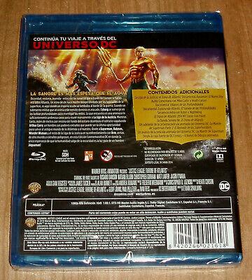 La Liga De La Justicia El Trono De Atlantis Nuevo Blu-Ray Animacion (Sin Abrir) 2