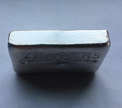 5 oz Hand Poured 999 Silver Bullion Bar by YPS (Bare Bones) 3