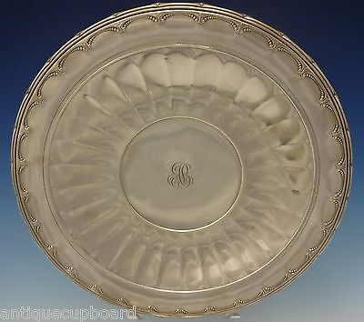 """Old Colonial by Towle Sterling Silver Plate 12"""" Diameter #93221 (#0502) 2"""