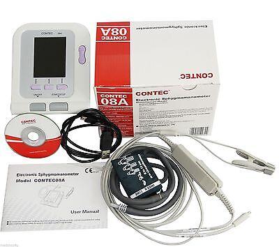 CONTEC08A-VET Digital Blood Pressure Monitor,Veterinary/Animal NIBP+SPO2 Probe 3