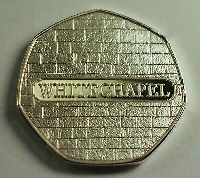 JACK THE RIPPER Silver Commemorative Coin Albums/50p Collectors. Whitechapel 3
