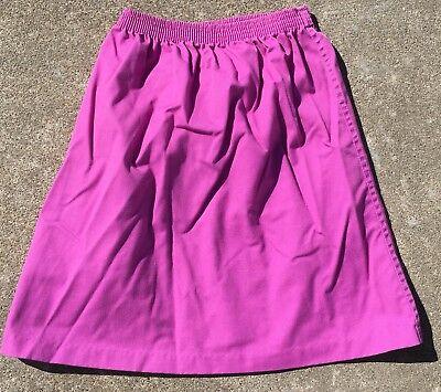 Vintage Kim Stacy Skirt Made In USA 70s 80s Girls 7 Elastic Waist 7