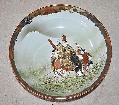 Superb Set of 3 Large Kutani Graduated Porcelain Bowls Hand Painted Meiji Period 3