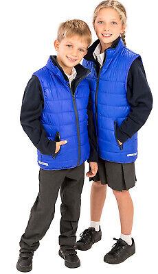 Kids AGES 2-14 Padded Insulated BODY WARMER Waistcoat Gilet Top Showerproof *** 4