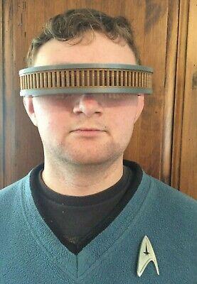 Star Trek Next Generation TNG Geordi La Forge Visor Costume Prop Cos Play 3