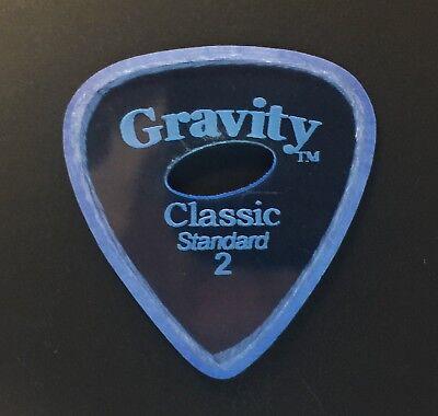 Gravity Picks Europe Classic Razer Sunrise Plectrum 4