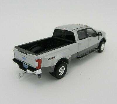 1:64 GreenLight *ANNIVERSARY COLLECTION* Silver 2019 Ford F350 Dually Pickup NIP 5