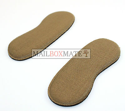 Extra Sticky Fabric Shoe Heel Inserts Insoles Pads Cushion Grips Strong Comfy 2