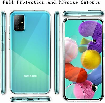 Cover Custodia + Pellicola In Vetro Temperato Per Samsung Galaxy A51 A 51 7