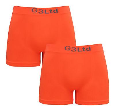 2 X Mens Microfibre Boxer Shorts Underwear Wicking Sport Running Active Seamless